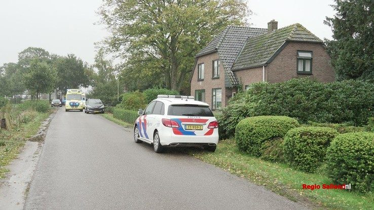 Traumahelikopter opgeroepen voor incident in Wesepe - Foto: Jasper Hutten