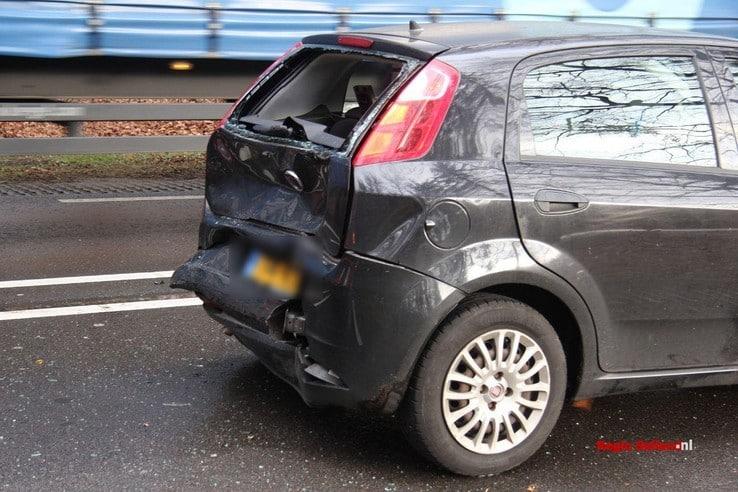 Ongeval op N35 tussen Heino en Raalte - Foto: Pim Haarsma