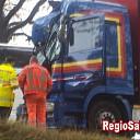 Ongeval op N35 bij Ganzepanbrug
