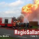 Grote brand verwoest kapschuur en twee caravans