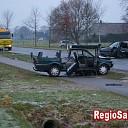 Drie gewonden bij frontale aanrijding in Broekland