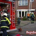 Schoorsteenbrand aan de Langeslag in Laag Zuthem