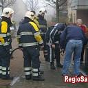 Containerbrand aan de Krijtenberg in Wijhe