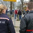 Evacuatie na gaslekkage aan de Boerdansedijk in Zwolle