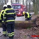 Storm: Boom omgevallen op weg in Heino