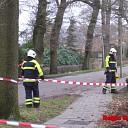 Storm: Tak afgebroken van boom in Heino