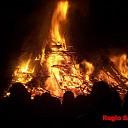 Paasvuren in Salland branden goed