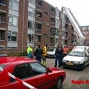 Brand aan de Ansfriedstraat in Deventer