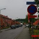 Roggestraat in Raalte kleurt Oranje