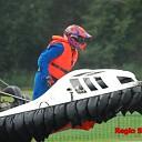 Spektakel bij EK hovercrafts op de Elshof