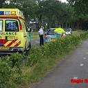 Wegversmalling veroorzaakt eenzijding ongeval in Heino