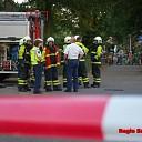 Grote inzet bij gaslekkage aan de Overbrinck in Heeten