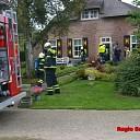 Brand in woning aan de Grote Hagenweg in Laag Zuthem