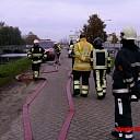 Aankomend brandweerlieden Raalte krijgen training