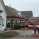 Schoorsteenbrand bij woning in Boskamp