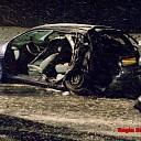 Ongeval door gladheid op de N337 te Olst