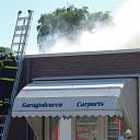 Grote brand bij Zonweringbedrijf in Raalte