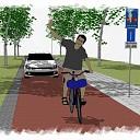 Harinkdijk in Raalte wordt veranderd in een fietsstraat