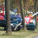 Eenzijdig ongeval op de Wijheseweg nabij Broekland