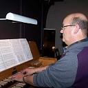 Raalter organist Klaas Bos 60 jaar geworden