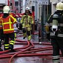 Cafetaria en appartementen afgebrand in Hattem