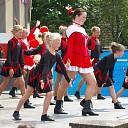 Uitvoering Showkorps Amicitia in Boerhaar