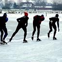Volop schaatsplezier op 't schaatspunt in Lemelerveld
