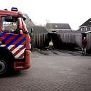 Schutting aan de Kemphaan vat vlam in Raalte (update)