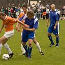 BN-ers voetballen voor het goede doel in Broekland