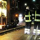 Brandweer Olst rukt uit voor brand in touringcar