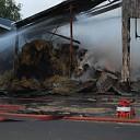 Grote schuurbrand in buitengebied Bathmen