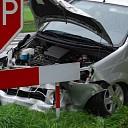 Twee auto's total loss bij ongeval N348 te Vilsteren
