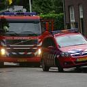 Brandje aan de Stationsstraat in Raalte snel verholpen