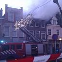 Grote brand in shoarmazaak aan Vispoortenplas in Zwolle