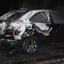 Auto uitgebrand op Heuvelweg te Luttenberg