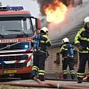 Woonboerderij onbewoonbaar na heftige brand in Heino