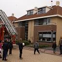 Brand bij isolatiemateriaal schoorsteen in Raalte-Noord