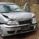 Materiële schade bij ongeval Heuvelweg te Luttenberg