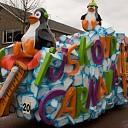 Grootse carnavalswagens bij optocht door Heino