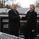 Eerste zonnepanelen in Olst-Wijhe leveren stroom
