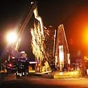 Schoorsteenbrand in het buitengebied van Den Nul