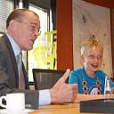 Robin Duteweert vandaag burgemeester gemeente Raalte