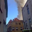 Geen asbest vrijgekomen bij brand Melkmarkt te Zwolle