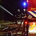 Brand in varkensschuur aan de Prinshoeveweg in Olst