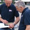 Opbouw Ribs & Blues begonnen met hulp van GPS