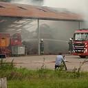 Grote brand in kapschuur bij Aver Heino
