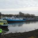 Scheepvaart IJssel stil door vastgelopen tanker