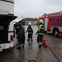Brandje in bus snel geblust op industrieterrein in Heino