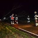 Stormschade aan de Neulemansweg in Broekland