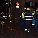 Brand in woning in het centrum van Deventer